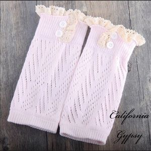 Other - Baby boho knit leg warmers 💕
